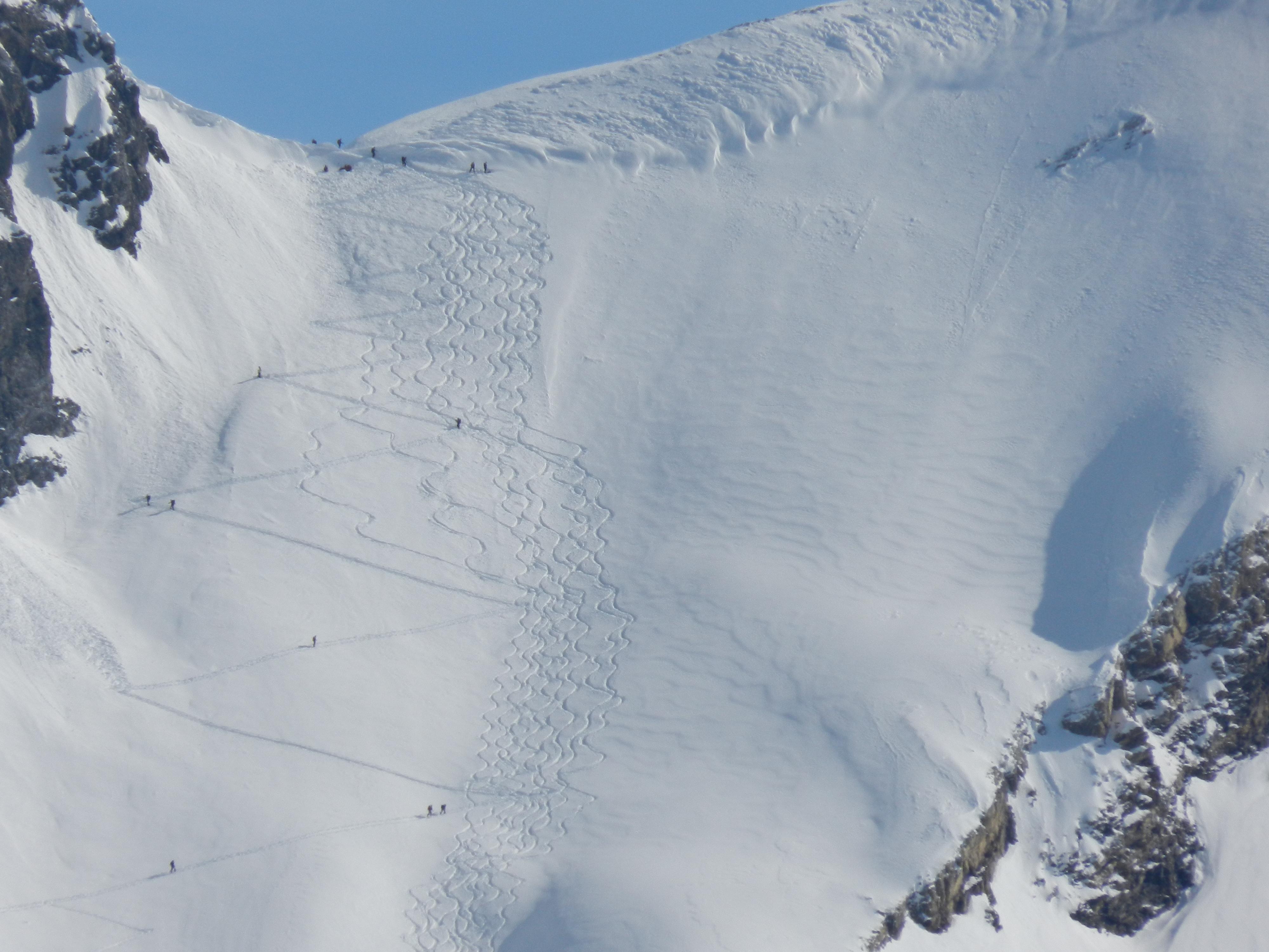 Skitour - Höllscharte