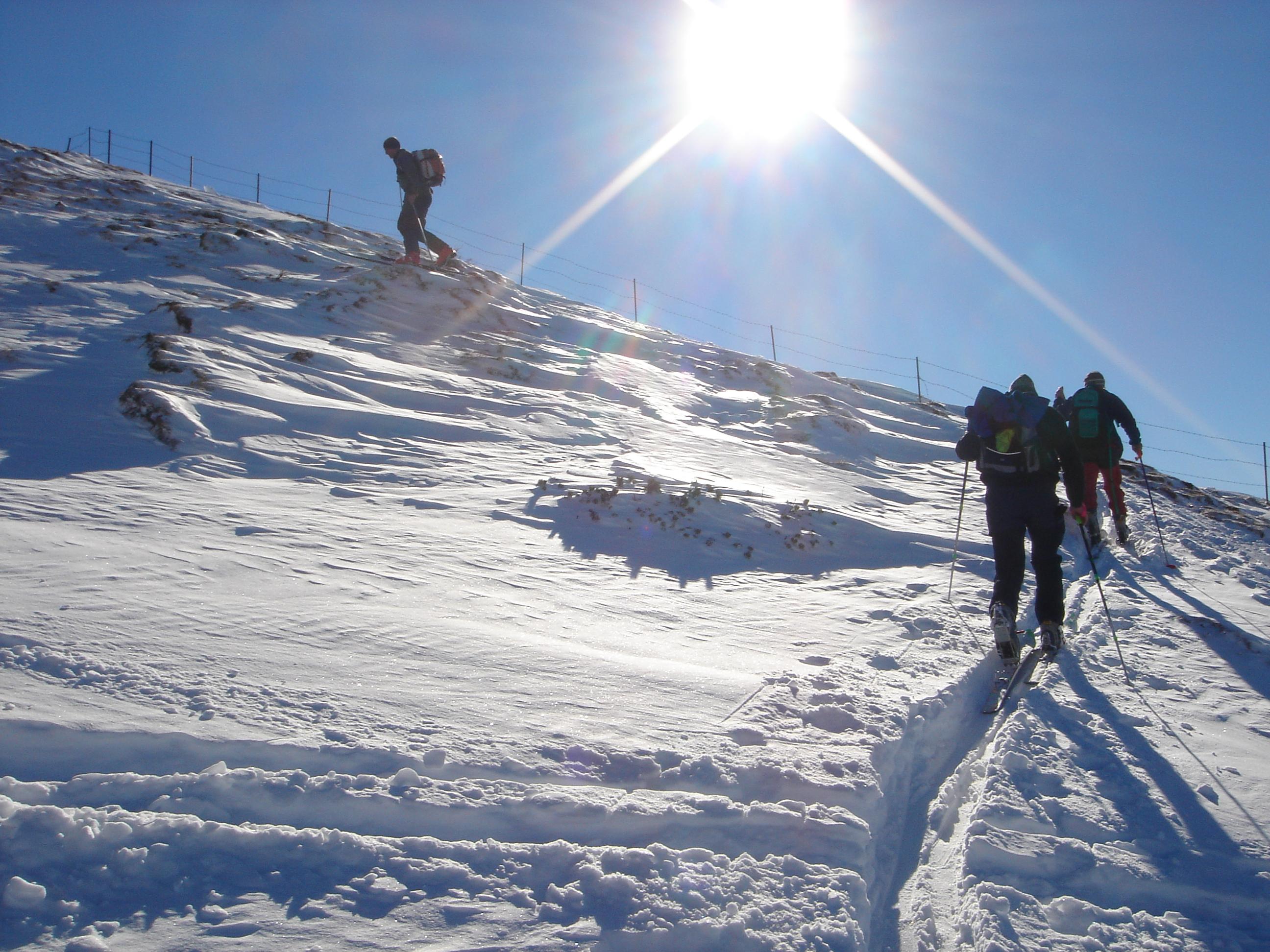 Skitour - Sumpfkopf